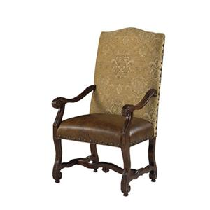 Designmaster Chairs  Luxemberg Overscaled Carved Arm Chairs
