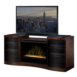 Dimplex Acton Media Console with Electric Firebox