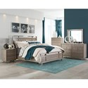 Five Piece King Bedroom Group