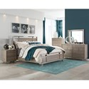Five Piece Cal King Bedroom Group
