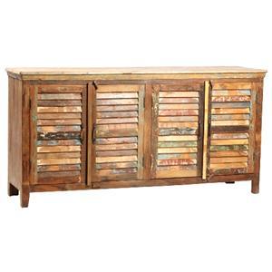 Dovetail Furniture Nantucket Nantucket Louvered Sideboard