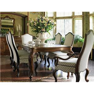 Drexel Heritage® At Home in Belle Maison Seven Piece Dining Set
