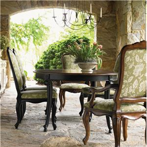 Drexel Heritage® At Home in Belle Maison 7 Piece Dining Set