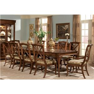 Superbe Eleven Piece Dining Set
