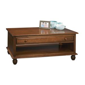 Durham Occasional Tables Durham Cottage Drawer Cocktail Table