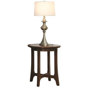 Durham Occasional Tables Durham Westwood Round Lamp Table