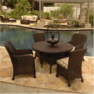Ebel Dreux 5 Piece Outdoor Dining Set