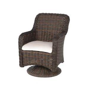 Ebel Dreux Dining Swivel Rocker Chair