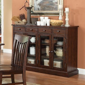 Gettysburg Matching Server With Adjustable Shelves