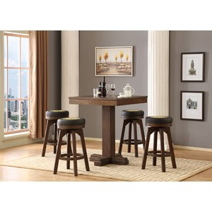 5 Pc Pub Table Set