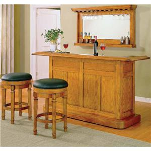Bar Set with Two Stools