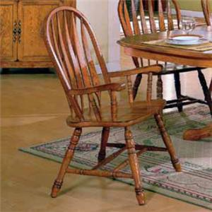 E.C.I. Furniture Stafford Dining Arm Chair