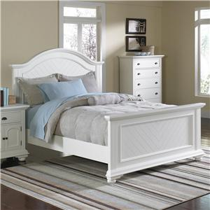 Elements International Brook Queen Panel Bed