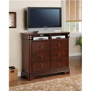 Elements International Cameron TV Stand