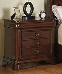 Elements International Cameron Transitional Night Stand