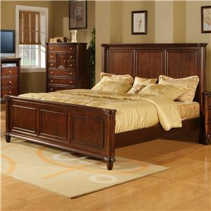 Elements International Hamilton King Bed