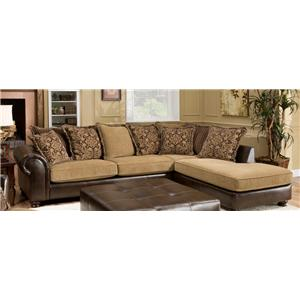 Encore E399 Traditional 2 piece sectional