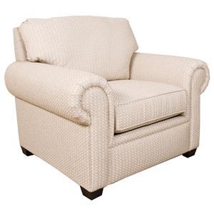 England Brett Rolled Arm Chair