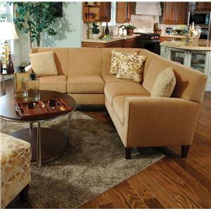 England Collegedale 2-Piece Sectional