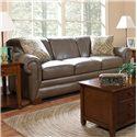 England Leah  Leather Sofa Sleeper