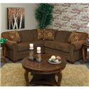 England Monroe 2-Piece Sectional - Item Number: 1430-64+27