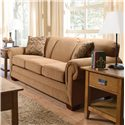 England Monroe Traditional Queen Sleeper Sofa - Shown in Room Setting