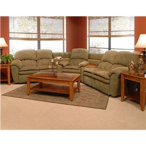 England Oakland Reclining Sectional