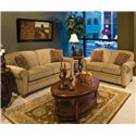 England Philip Casual Sofa - Shown With Love Seat. Sofa Shown May Not Represent Exact Features Indicated.