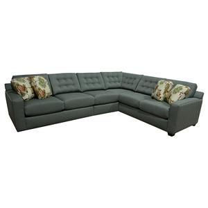 England Shannon 5 Seat Corner Sectional