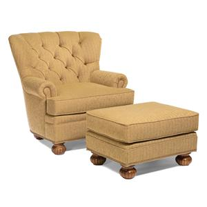 Fairfield Chairs Lounge Chair and Ottoman Combination