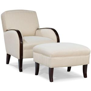 Fairfield Chairs Lounge Chair and Ottoman