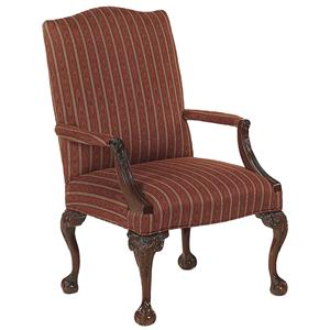Fairfield Chairs Claw-and-Ball Foot Chair