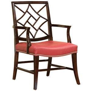 Fairfield Chairs Chair with Elegant Back Cut-Out