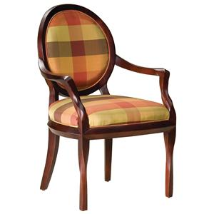Fairfield Chairs Oval Back Occasional Chair