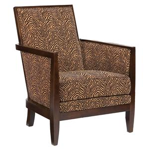 Fairfield Chairs Geometric Exposed-Wood Chair