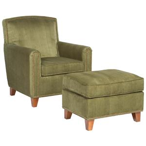 Fairfield Chairs Plush Chair & Ottoman Set