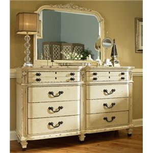 Fairmont Designs East Providence Dresser and Mirror