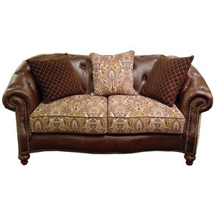 Fairmont Designs Estates II Loveseat / Plush Caramel