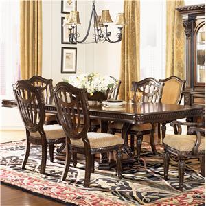Fairmont Designs Grand Estates Double Pedestal Dining Table