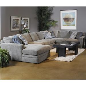 Fairmont Seating Foley Foley Feather Blend Sectional