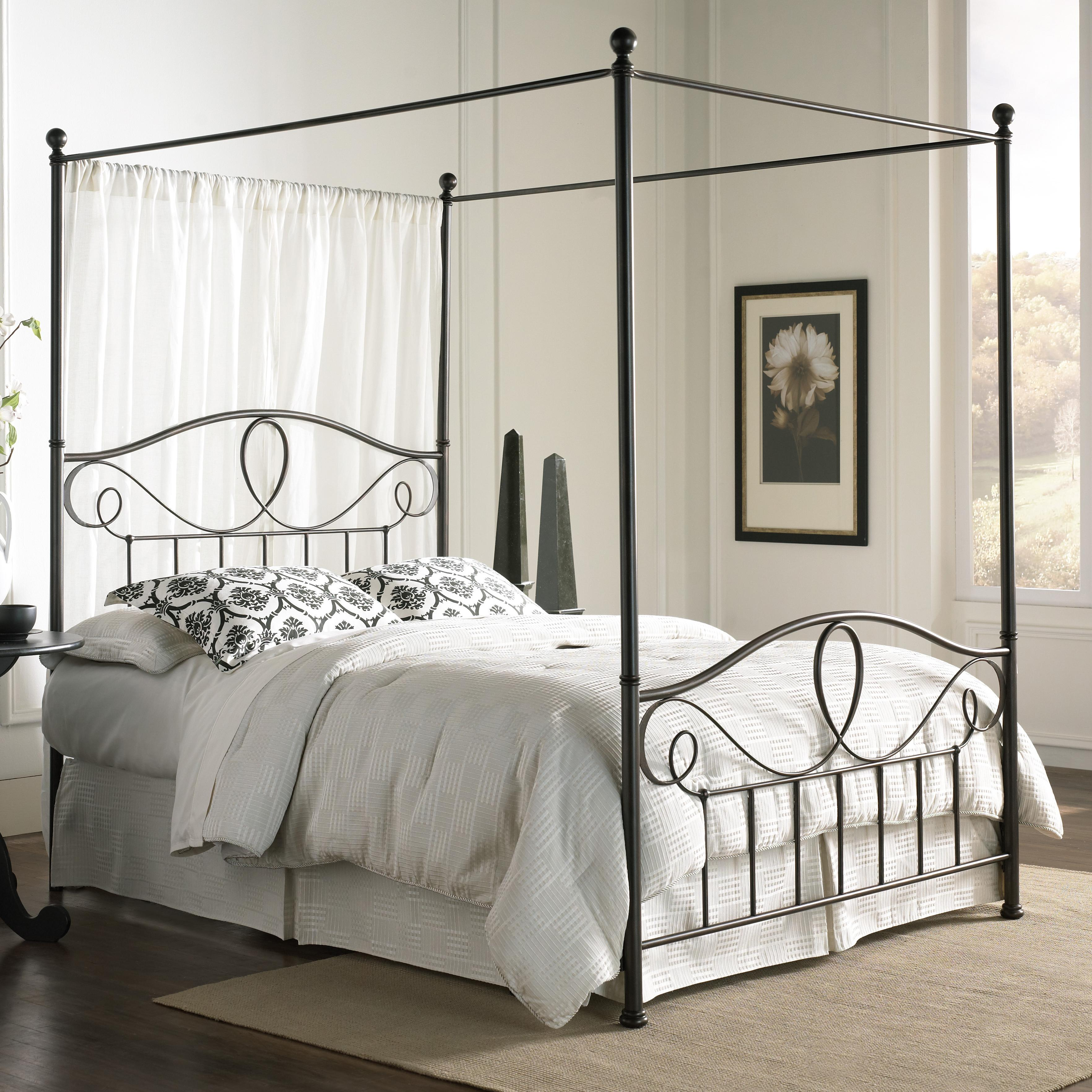 queen sylvania canopy bed - Fashion Bedroom Furniture
