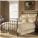 Fashion Bed Group Metal Beds Queen Langley Bed w/ Frame  - Item Number: B11235