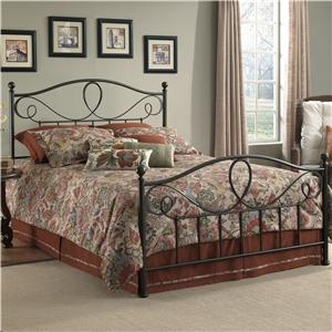 Fashion Bed Group Metal Beds Queen Sylvania Bed w/ Frame