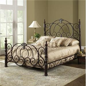 Fashion Bed Group Metal Beds Queen Strathmore Bed