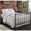 Fashion Bed Group Metal Beds Full Romano Bed with Frame - Item Number: B11874