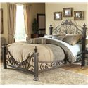 Fashion Bed Group Metal Beds California King Baroque Metal Bed - Item Number: B11897