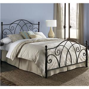 Fashion Bed Group Metal Beds Queen Deland Bed