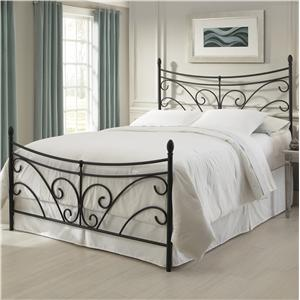 Fashion Bed Group Metal Beds Queen Bergen Bed