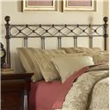 Fashion Bed Group Metal Beds King/California Argyle Headboard - Item Number: B12286