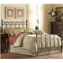 Fashion Bed Group Metal Beds King/California Argyle Headboard - Headboard Shown in Bed Setting